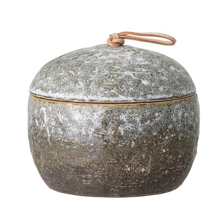 Boîte de conservation 670 ml de Bloomingville dans gris / brun