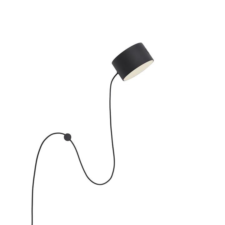 Affichez l'applique LED Muuto en noir