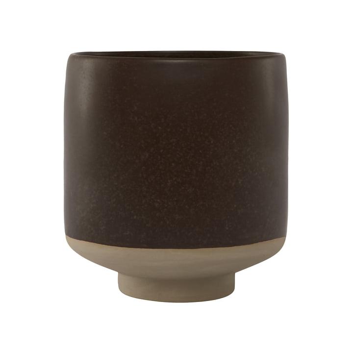 Pot de fleurs Hagi, brun par OYOY