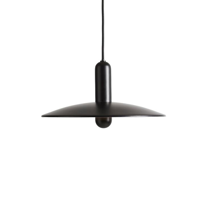Lu lampe à suspension Ø 33 cm petit de Woud en noir