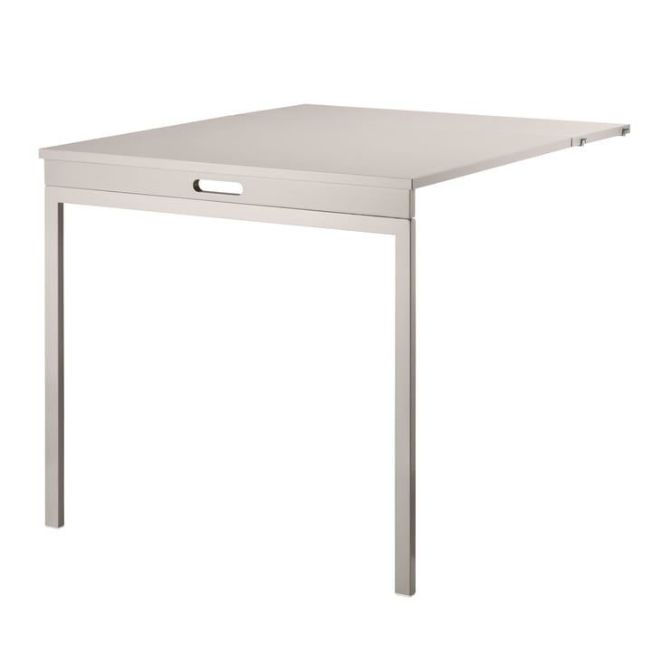 Table pliante de String couleur beige