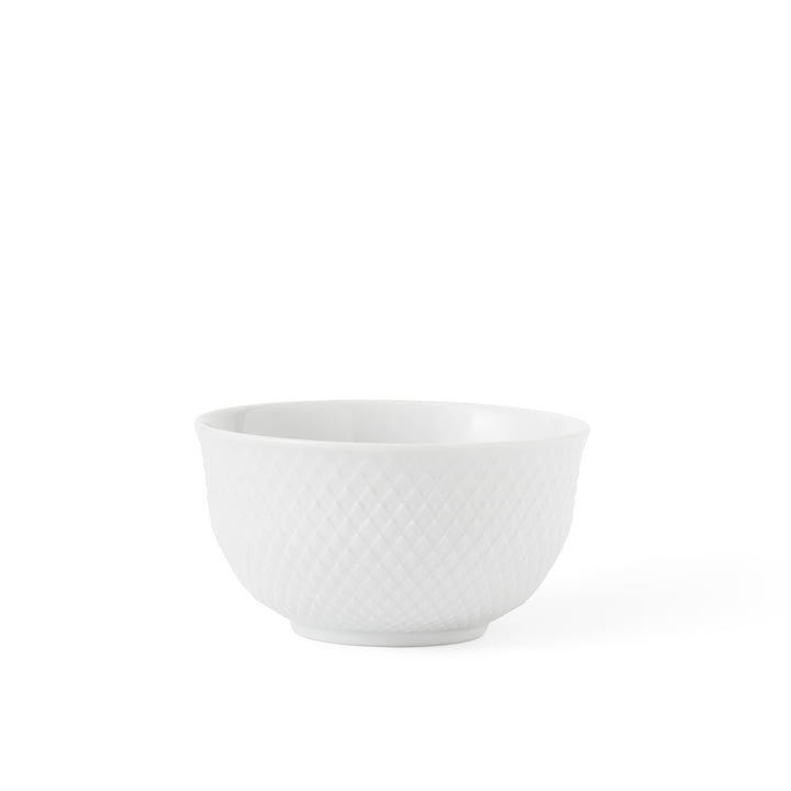 Bol losange 35 cl de Lyngby Porcelæn en blanc