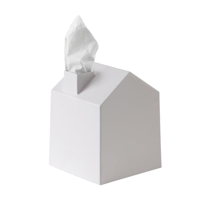 Boîte de Umbra mouchoirs cosmétiques Casa en blanc
