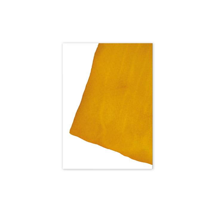 Affiche Enso Yellow I, 30 x 40 cm de Paper Collective