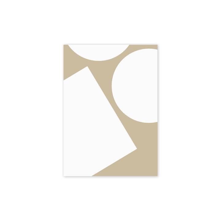 Simple Forms I Affiche, 30 x 40 cm de Paper Collective