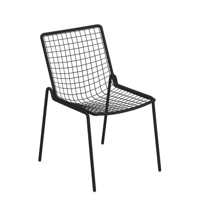 Chaise Rio R50, noire par Emu
