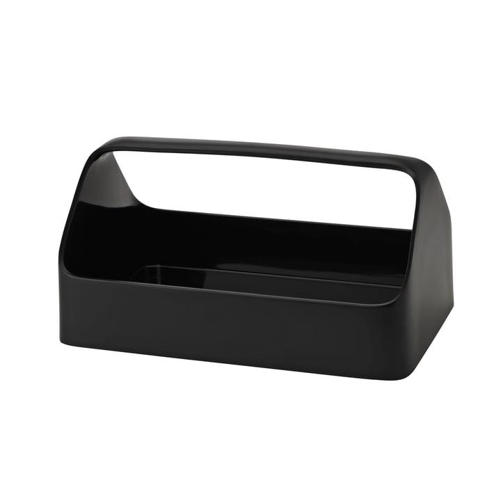 Boîte pour téléphone portable Boîte de rangement de Rig-Tig Stelton en noir