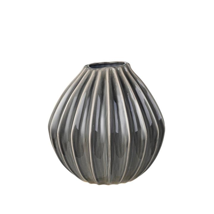 Wide Vase, Ø 30 x H 30 cm, perle fumée de Broste Copenhagen