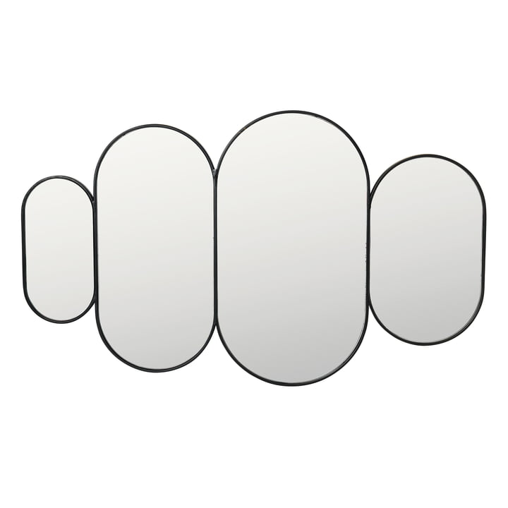 Pelle Miroir XL, noir de Broste Copenhagen