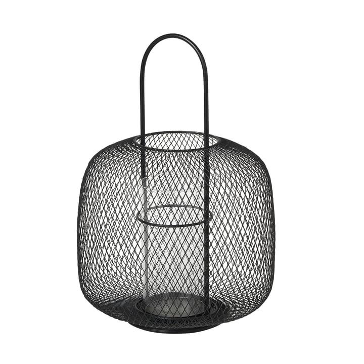 Boden Lanterne, Ø 29,5 x H 42,5 cm, noir par Broste Copenhagen