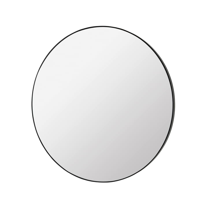 Complete Miroir Ø 80 cm, noir de Broste Copenhagen