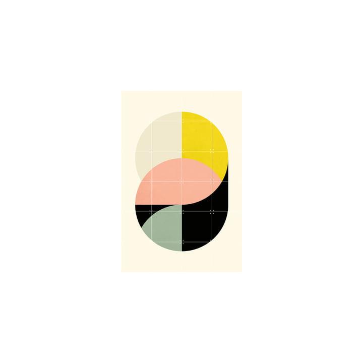 Circles Affiche de IXXI en 80 x 120 cm