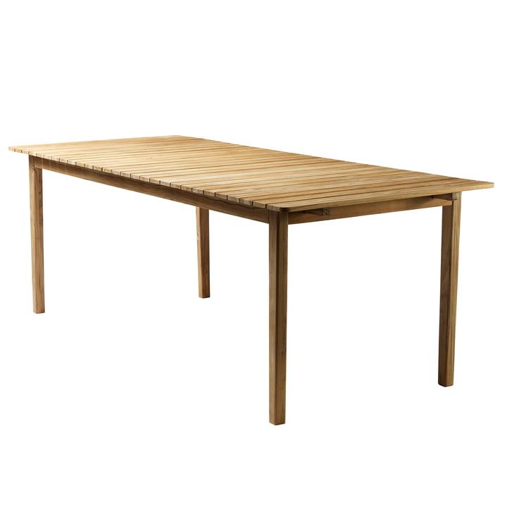 M2 Table de jardin 90 x 219,5 cm de FDB Møbler teck