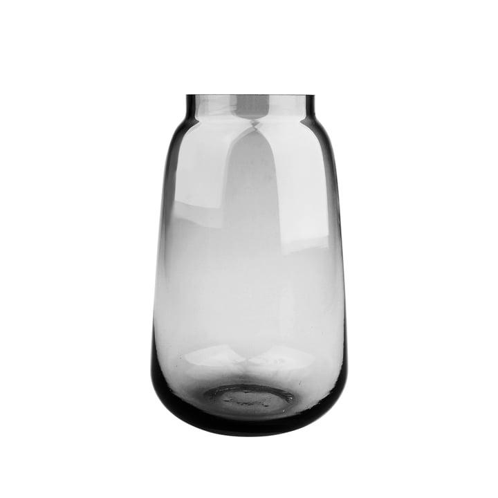 Bou Vase Ø 15 x H 24 cm, gris de Connox Collection