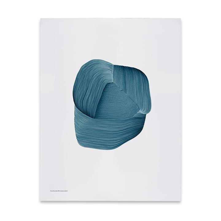 Drawing 3 affiches 50 x 68,7 cm de The Wrong Shop en bleu