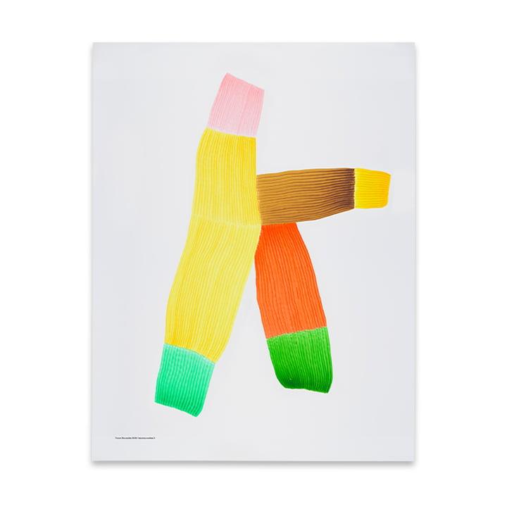 Drawing 2 affiches 50 x 68,7 cm de The Wrong Shop en multicolore