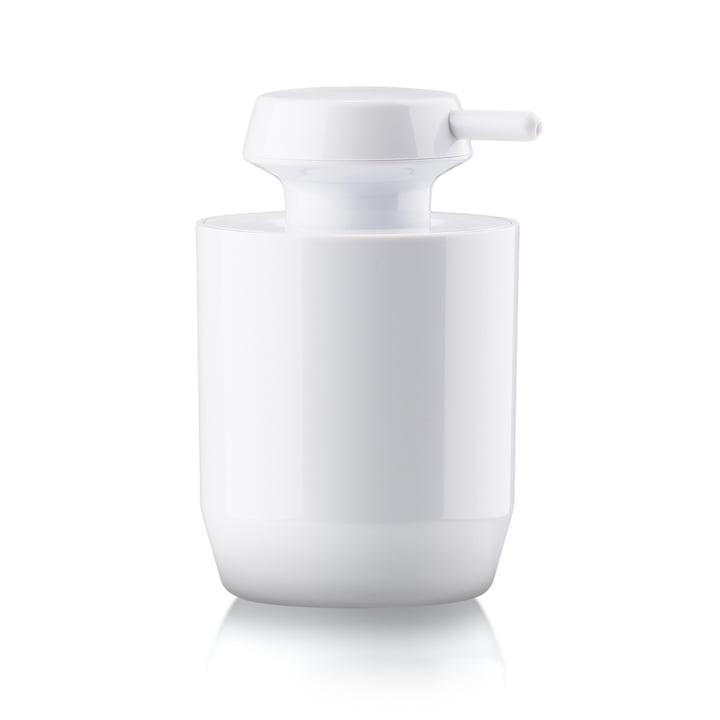 Distributeur de savon Suii H 12,4 cm de Zone Denmark en blanc