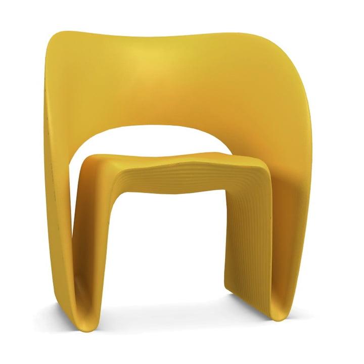 Raviolo Fauteuil de Magis en jaune