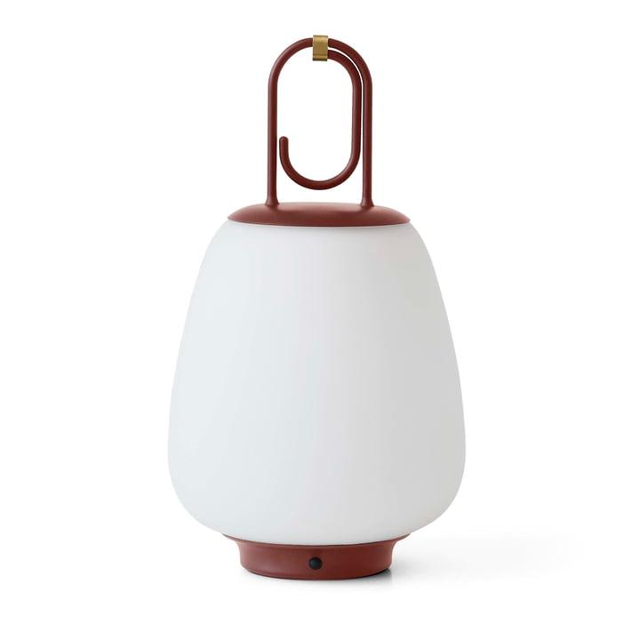 Lucca SC51 Portable Lumière extérieure LED à piles de & tradition en marron