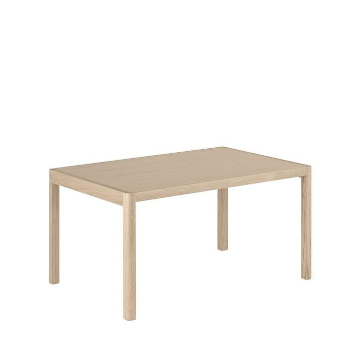 Table d'atelier, 140 x 92 cm, chêne de Muuto