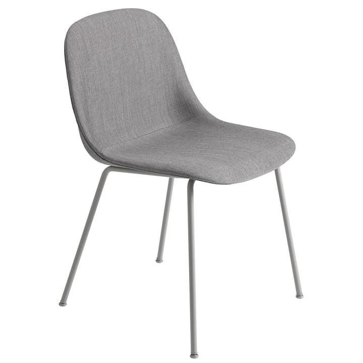 Pied de chaise en fibre, gris / Remix 133 de Muuto