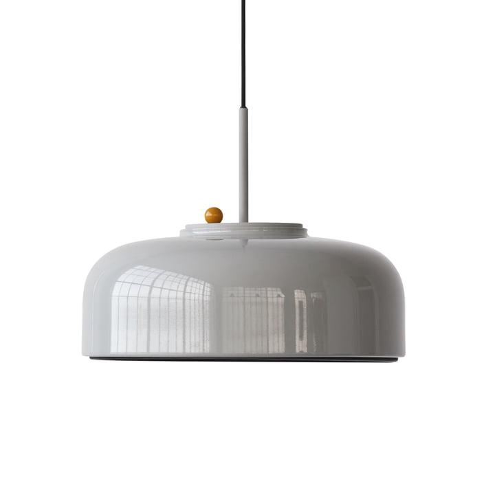 Podgy Lampe à suspension Ø 42 cm de Please wait to be seated dans ash grey / turmeric yellow