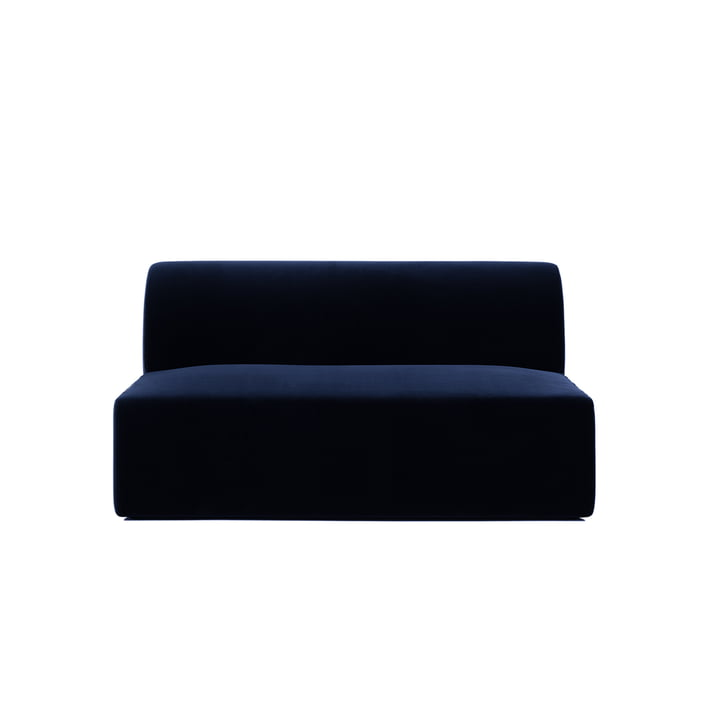 Causeuse de Objekte unserer Tage Weber en bleu foncé (City Velvet CA7832/052)