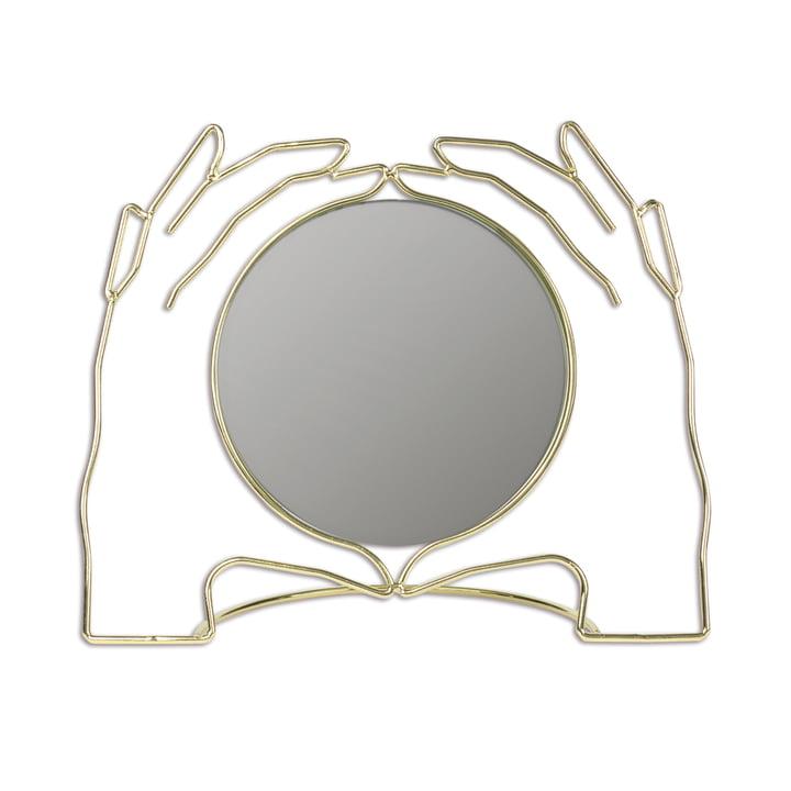 Miroir de table Xéria, or par Doiy