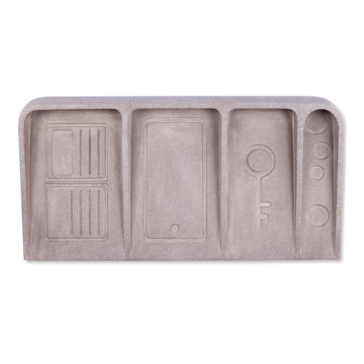 Le Videpoche Etagère, béton gris de Doiy