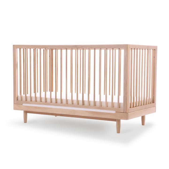 Lit bébé Pure, 70 x 140 cm, chêne par Nobodinoz