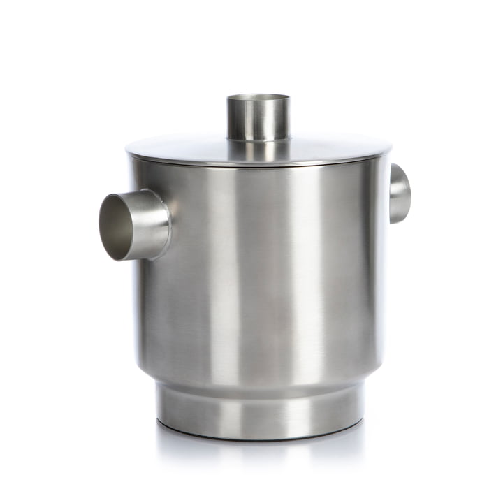Rondo Bac à glaçons petit, en acier inoxydable, Ø 13 cm de XLBoom