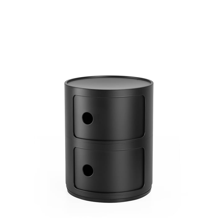Componibili 4986, noir mat par Kartell