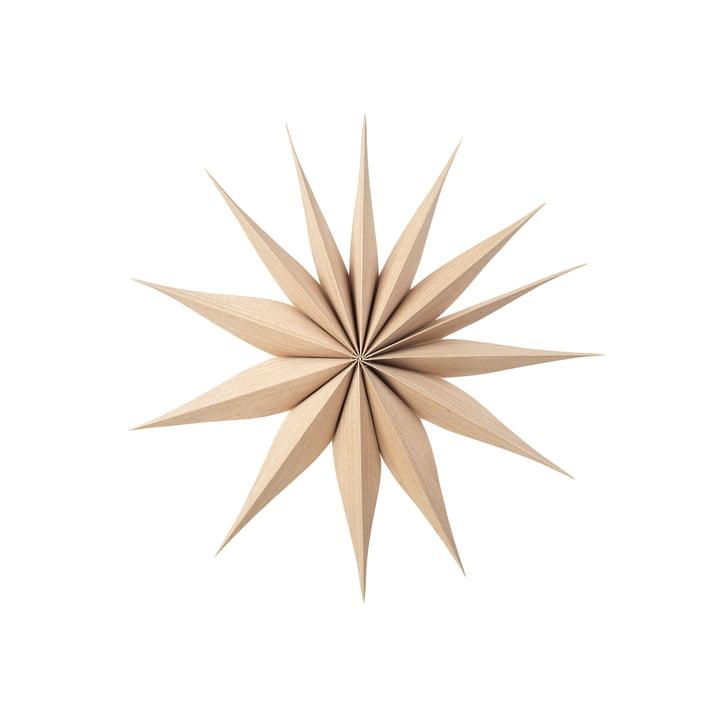 Étoile de décoration Venok M, Ø 40 cm / naturel par Broste Copenhagen