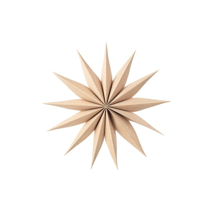 Étoile décorative Venok S, Ø 30 cm / naturel par Broste Copenhagen