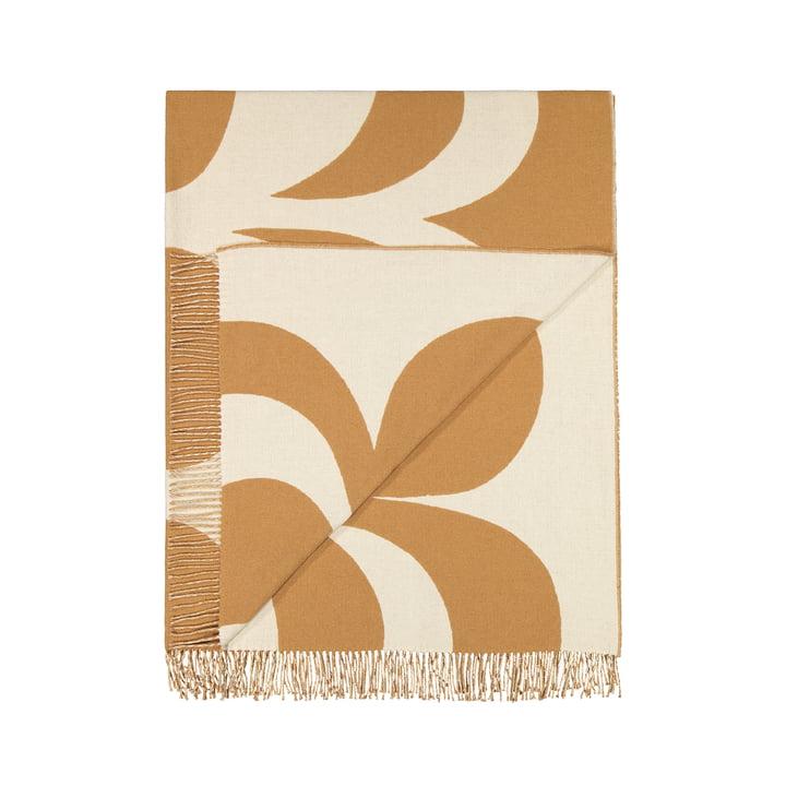 Couverture Kaivo 140 x 180 cm par Marimekko en blanc cassé / beige