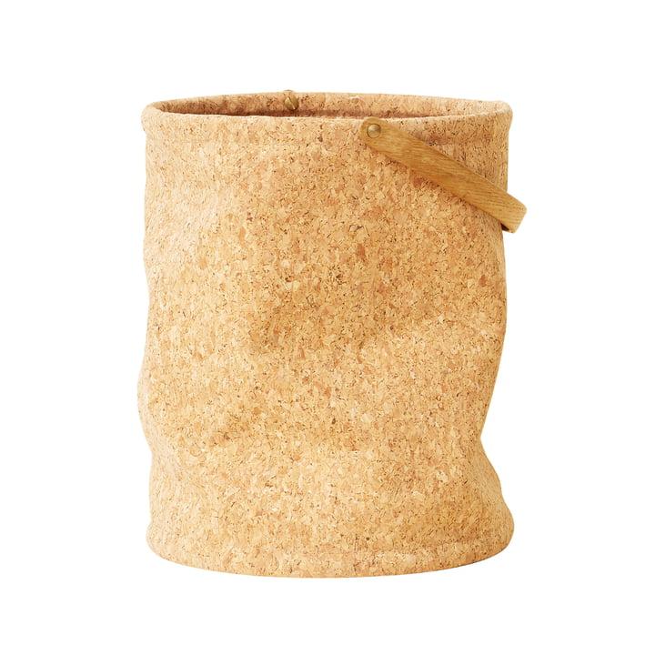 Corbeille à papier Nest, liège par Form & Refine
