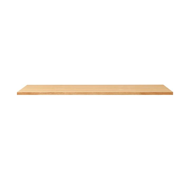 Plateau de table linéaire, 125 x 68 cm, chêne de Form & Refine