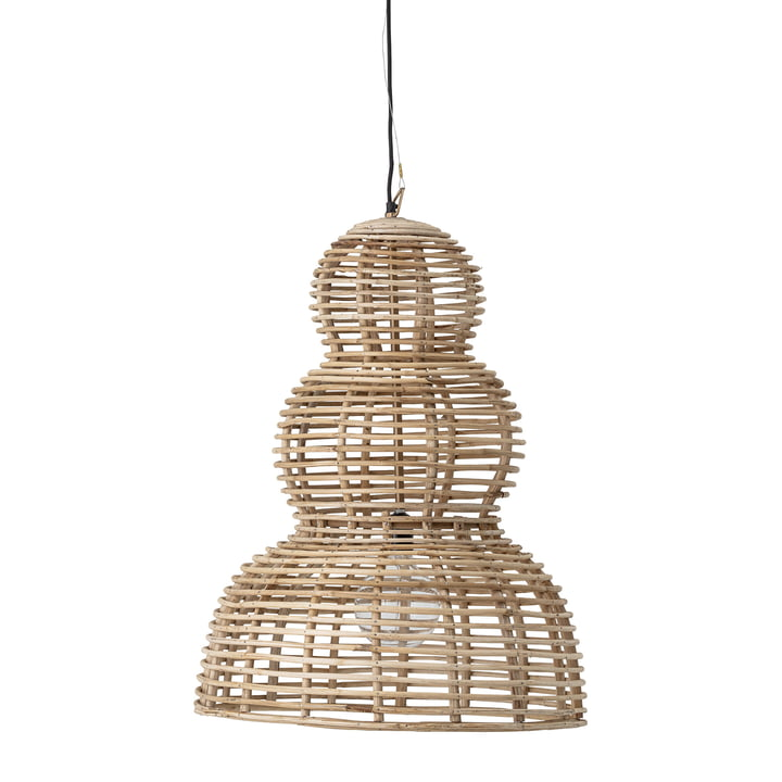 Lampe à suspension Fadil, Ø 54 x 77 cm naturel de Bloomingville
