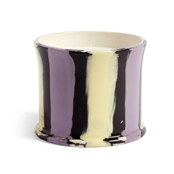 Stripe parfumée Stripe, Ø 10 x H 8,5 cm, feuille de figuier par Hay .