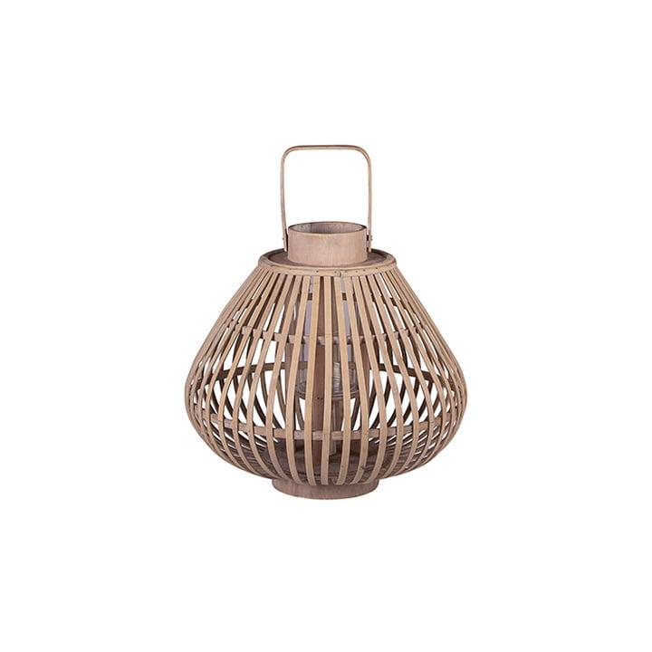Lanterne en bambou Sahara S Ø 31,5 x H 28 cm par von Broste Copenhagen en naturel