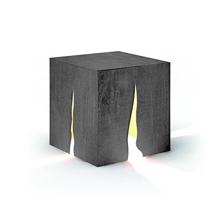 Lampadaire d'extérieur Granito H 30 cm, gris - Artemide