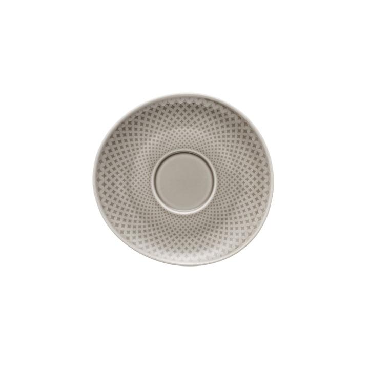 Combinaison / soucoupe à thé / café Junto Ø 15 cm, pearl grey Rosenthal