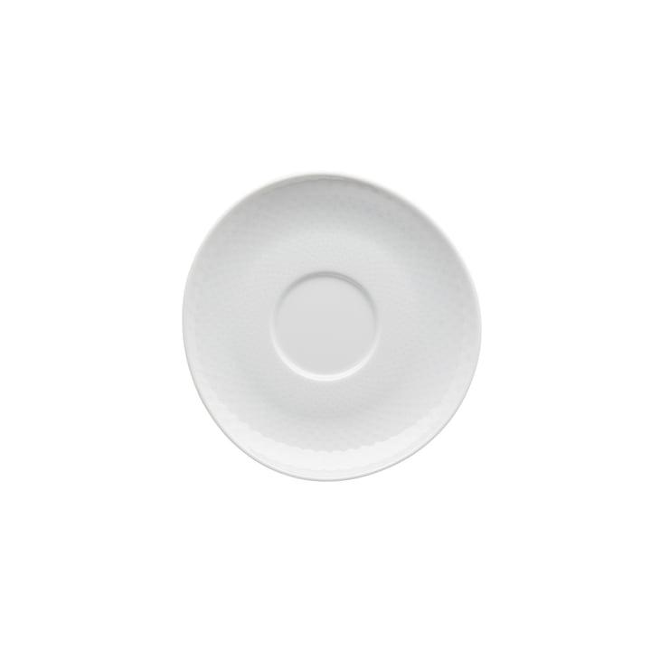Combinaison / soucoupe à thé / café Junto Ø 15 cm, blanc - Rosenthal