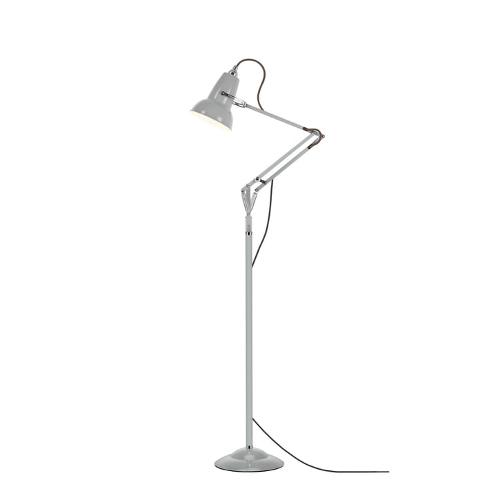 Mini lampadaire Original 1227, gris tourterelle (câble: gris) d' Anglepoise
