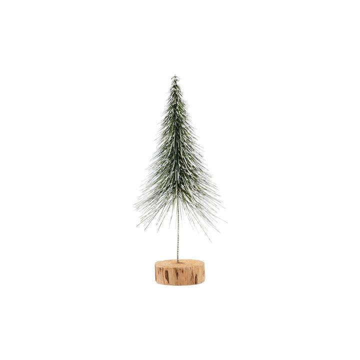 Sapin de Noël Spinkle H 28 cm, nature par House Doctor