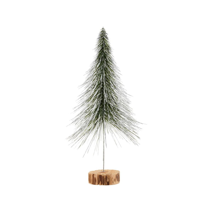 Sapin de Noël Spinkle H 36 cm, naturel par House Doctor