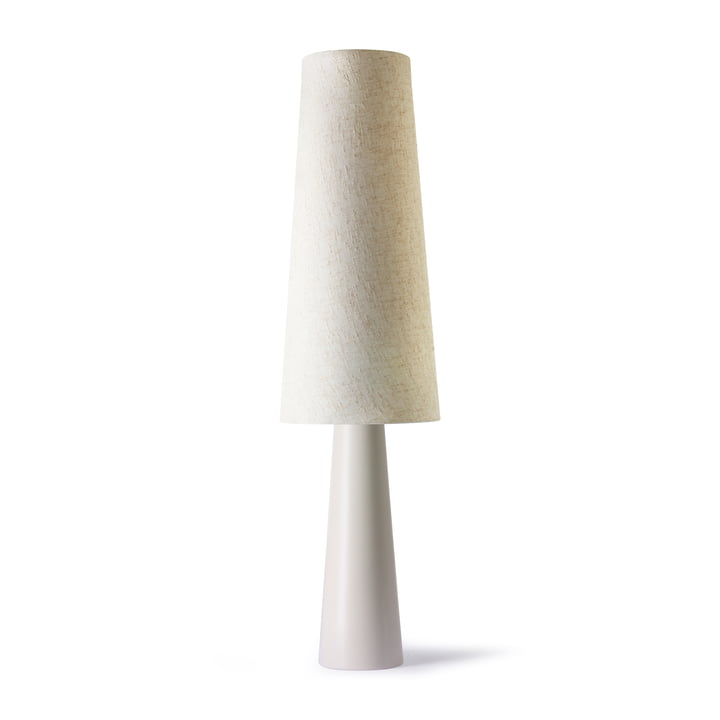 Le lampadaire Retro Cone, crème de HKliving