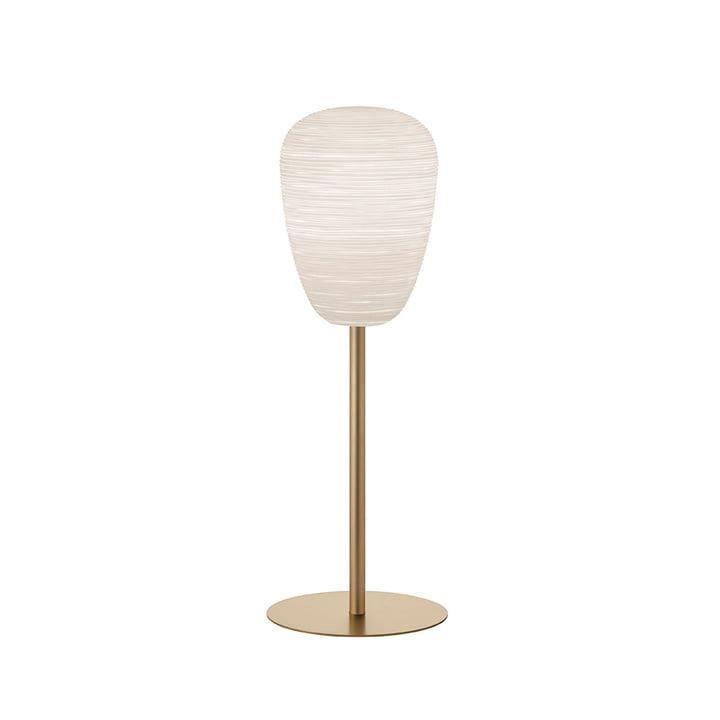 Lampe de table The Rituals 1 avec support, blanc / or - Foscarini