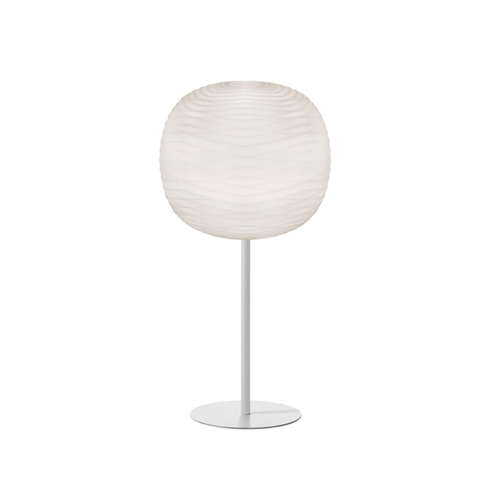Lampe de table Gem avec support, blanc / blanc - Foscarini