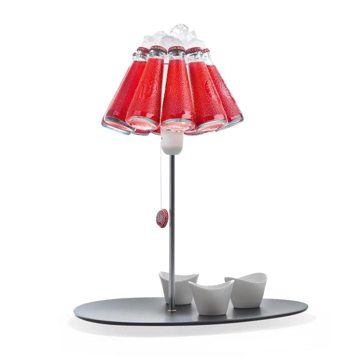 La lampe de table Campari Bar, rouge (EU) par Ingo Maurer